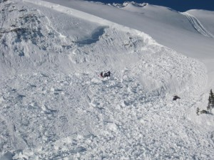 sled-through-avalanche